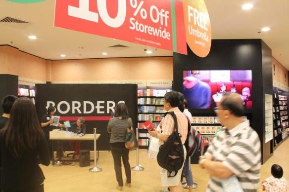 BORDERS Westgate Jurong East