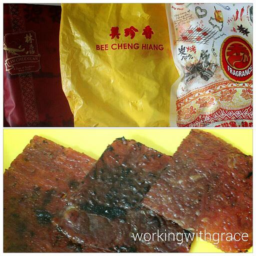 Bak Kwa brands in Singapore