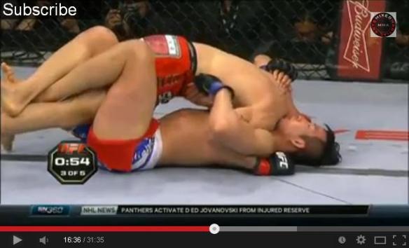 UFC Lim vs Tarec