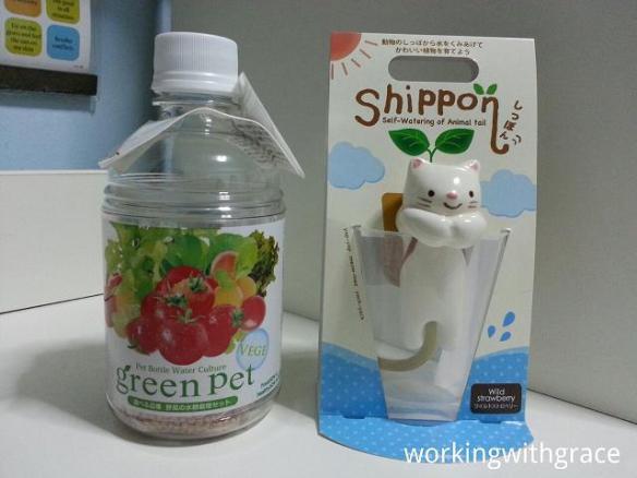 SEISHIN self-watering kits