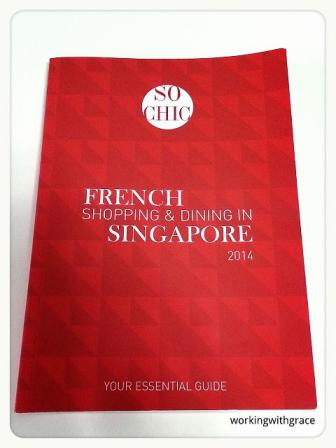 So Chic guide to French Shopping and Dining in Singapore