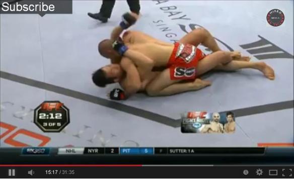 UFC Tarec vs Lim
