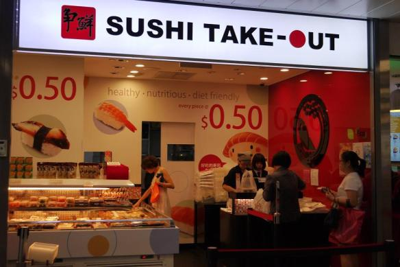 Sushi Take-Out Woodlands Xchange