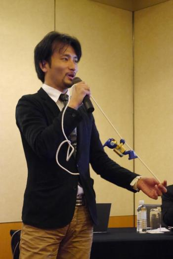 Tomotaka Takahashi and Evolta