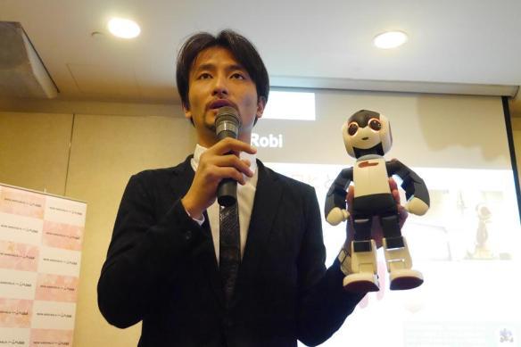 Tomotaka Takahashi and Robi