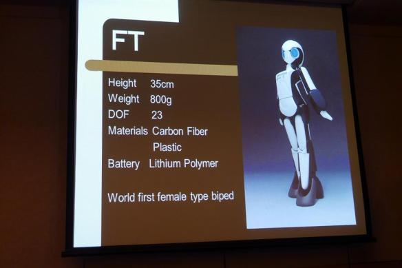 Tomotaka Takahashi female robot