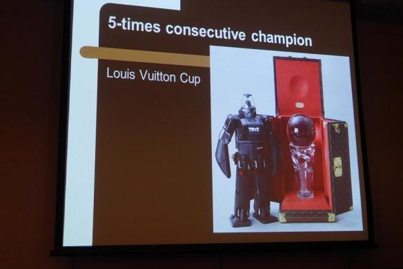 Tomotaka Takahashi Louis Vuitton Cup