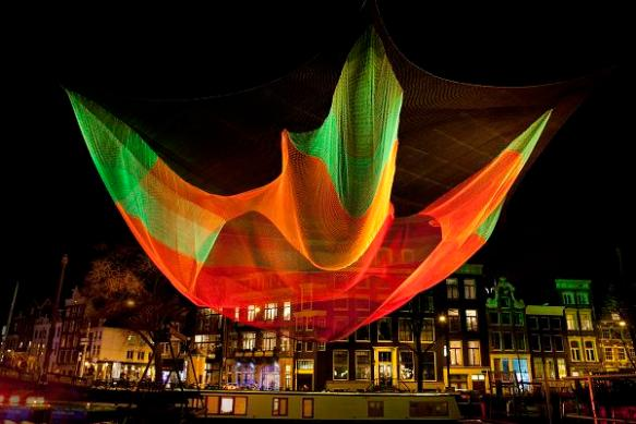 i Light Marina Bay 1.26 by Janet Echelman