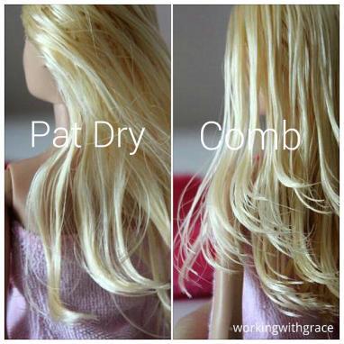 Barbie shampoo