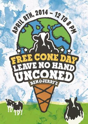 Ben & Jerry's Free Cone Day 2014