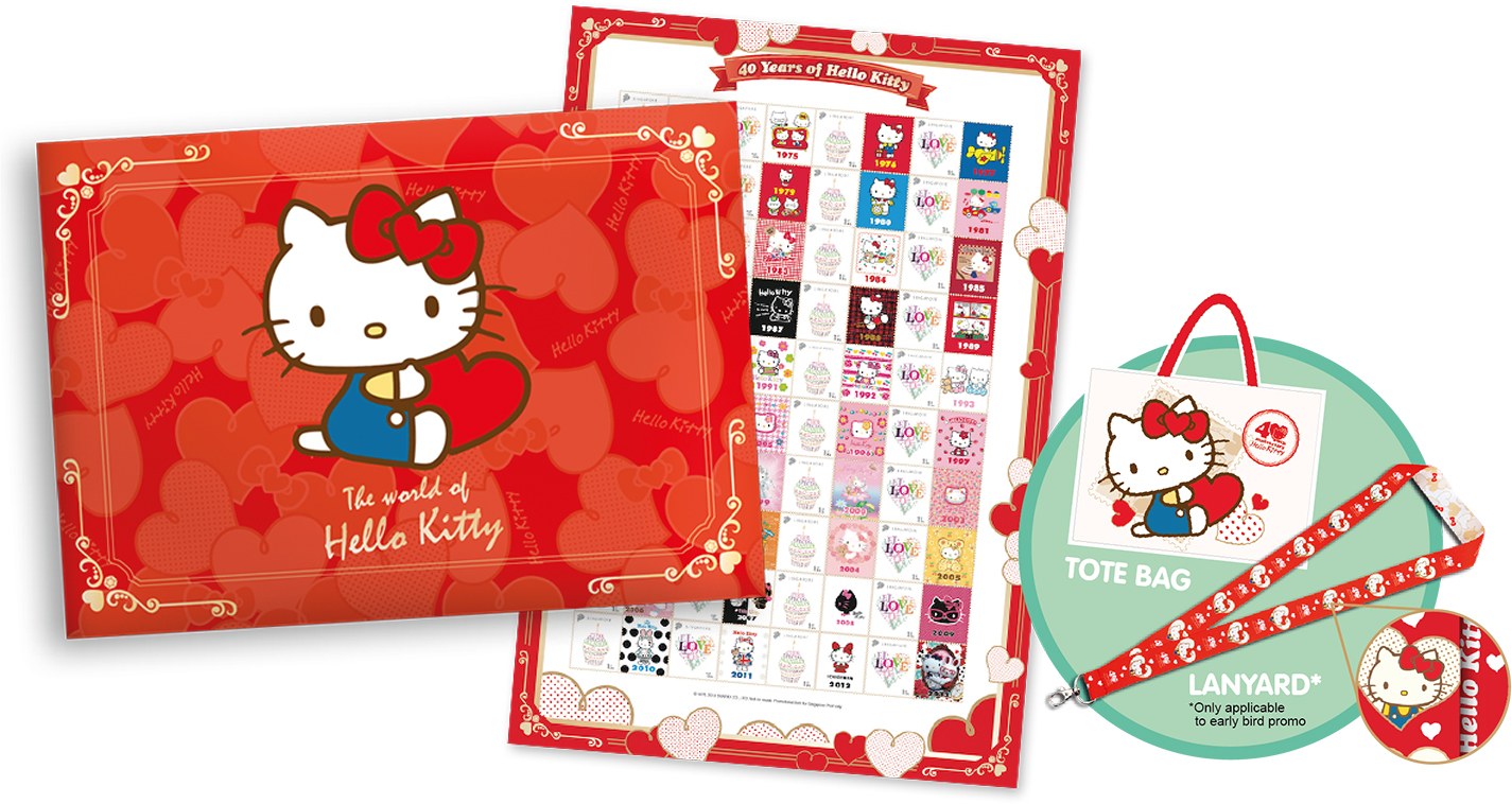 Where to buy stamps - Hello Kitty Stamps Singpost