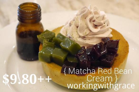 Miam Miam Matcha Red Bean Cream