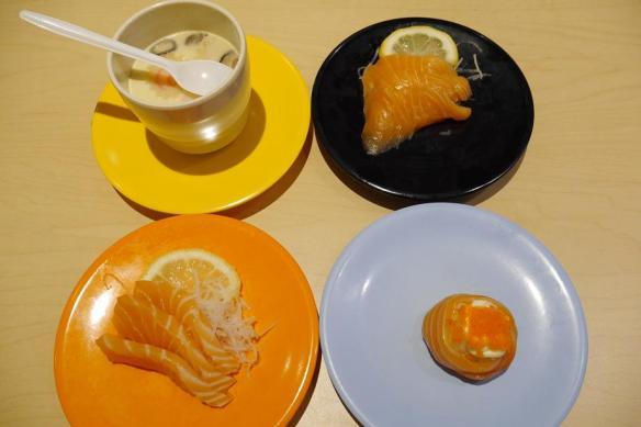 Nihon Mura Express sashimi