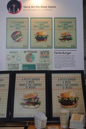Nurul Ain Petite Burger