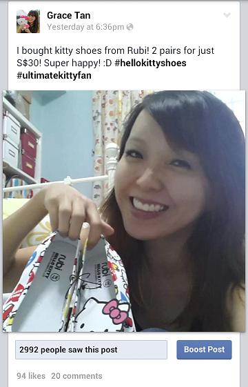 Rubi Hello Kitty Shoes