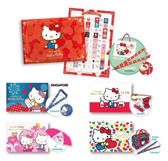 Hello Kitty Stamps SingPost