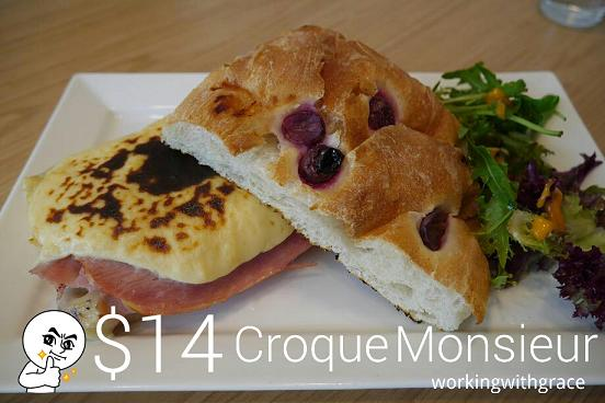 The Missing Pan Croque Monsieur