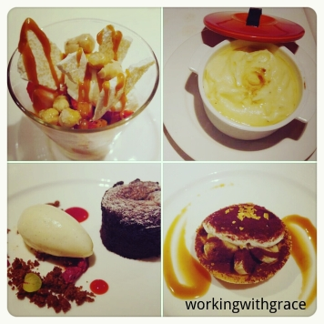 The Royal Mail desserts