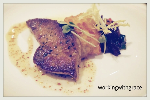 The Royal Mail Pan Seared Foie Gras