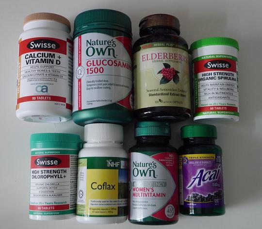 my supplements