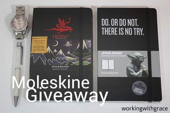 Moleskine Notebook giveaway