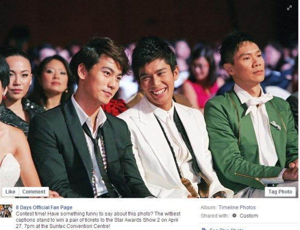Elvin Ng Star Awards