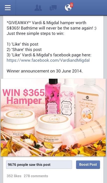 Vardi & Migdal giveaway