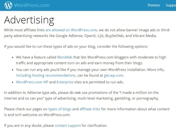 WP.com advertising