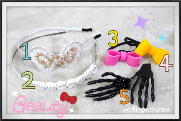 Hair Accessories Giveaway