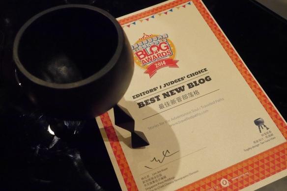 Singapore Blog Awards 2014 Winners