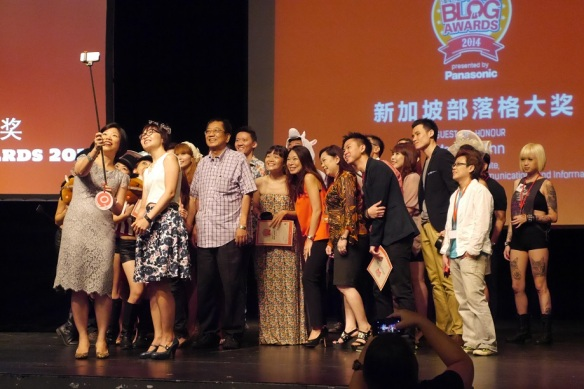 Singapore Blog Awards 2014 Winners