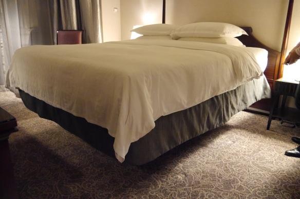 Sheraton Hotel Bed