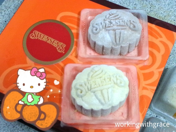 Swenson's Ice Cream Mooncakes