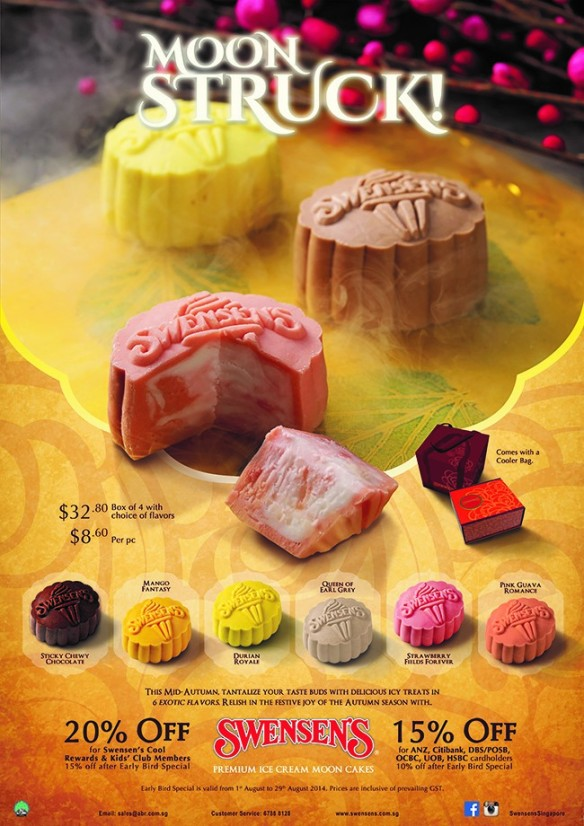 Swensons Ice Cream Mooncakes