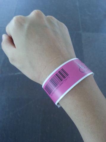 Megazip wristband