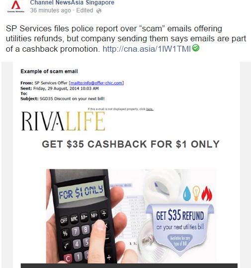 Rivalife police report