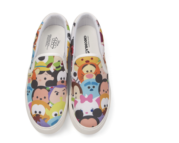 Chocoolate x Tsum Tsum shoes
