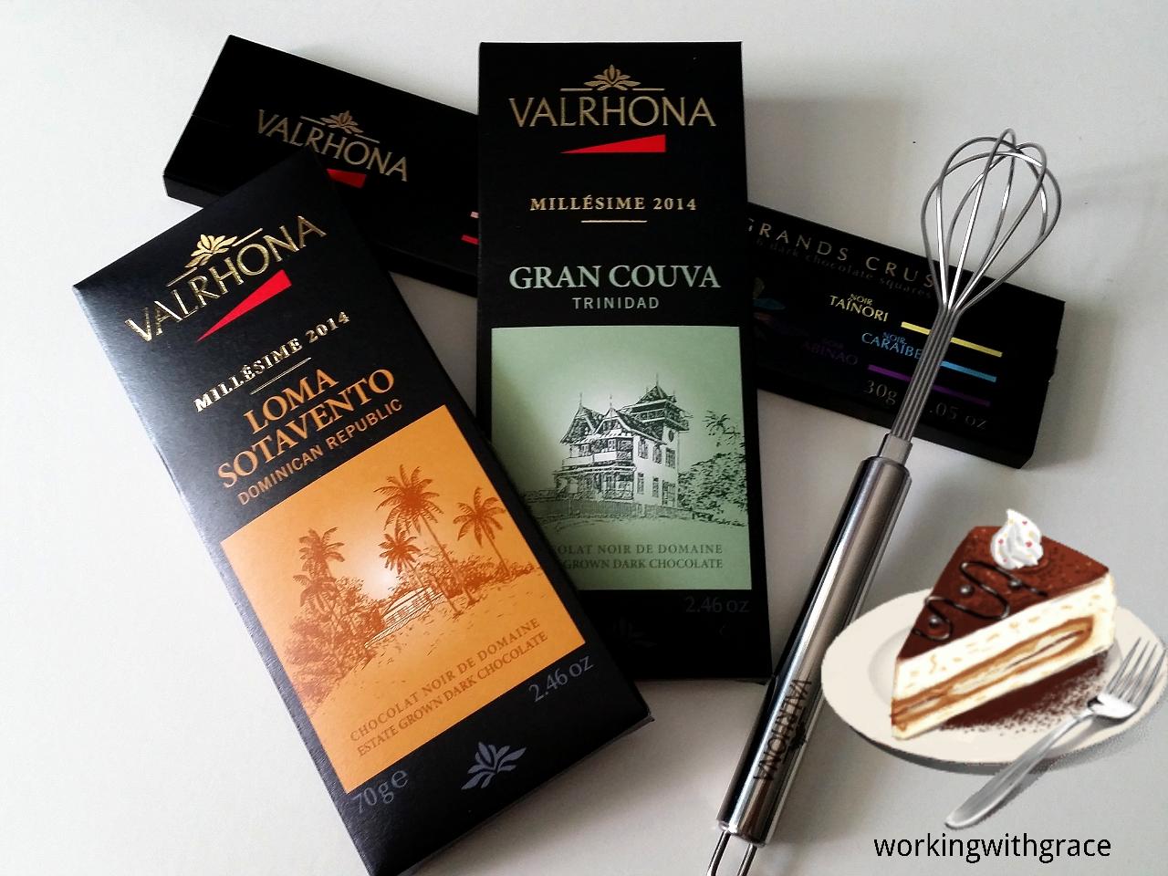 valrhona chocolate | Working With Grace