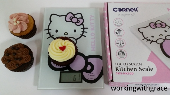 Cornell Hello Kitty Touch Screen Kitchen Scale