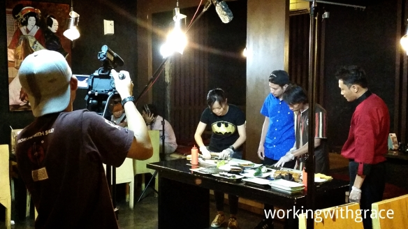 Sushi-making with Tarra Budiman