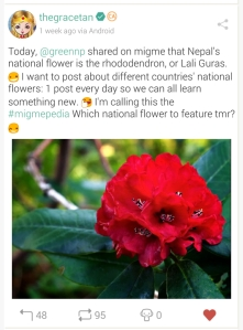 National Flower of Nepal