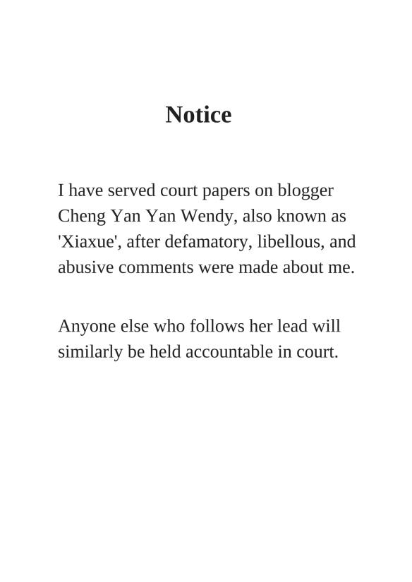 Wendy Cheng Yan Yan