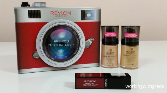 Revlon ColorStay Moisture Stain and PhotoReady Airbrush Effect