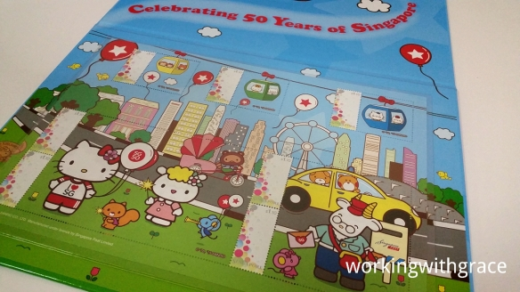 SingPost SG50 Hello Kitty stamps