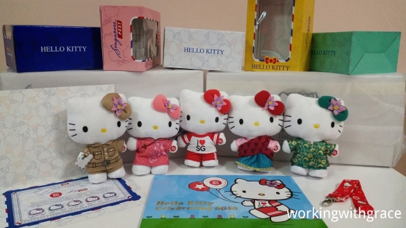 SingPost SG50 Hello Kitty