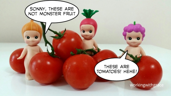 Sonny And The Giant Tomatoes