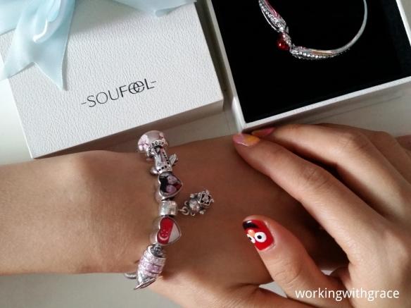 soufeel charm bracelet