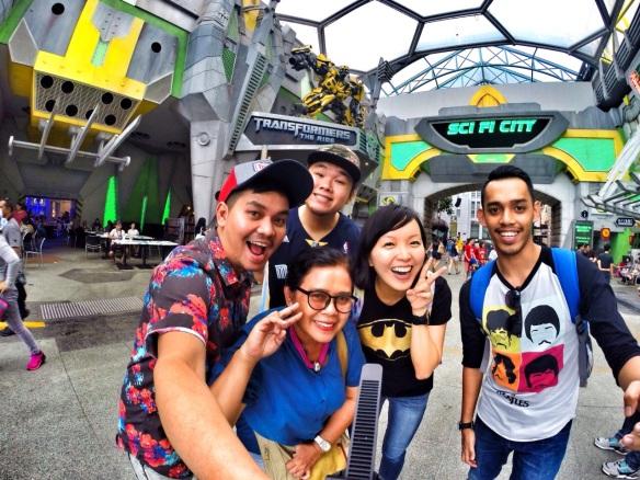 Universal Studios Singapore Transformers Ride