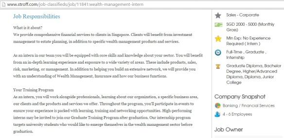 Wealth Management Intern