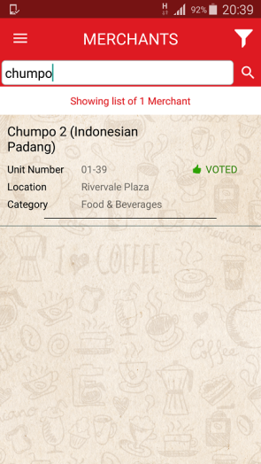 Vote for Chumpo Rivervale Plaza